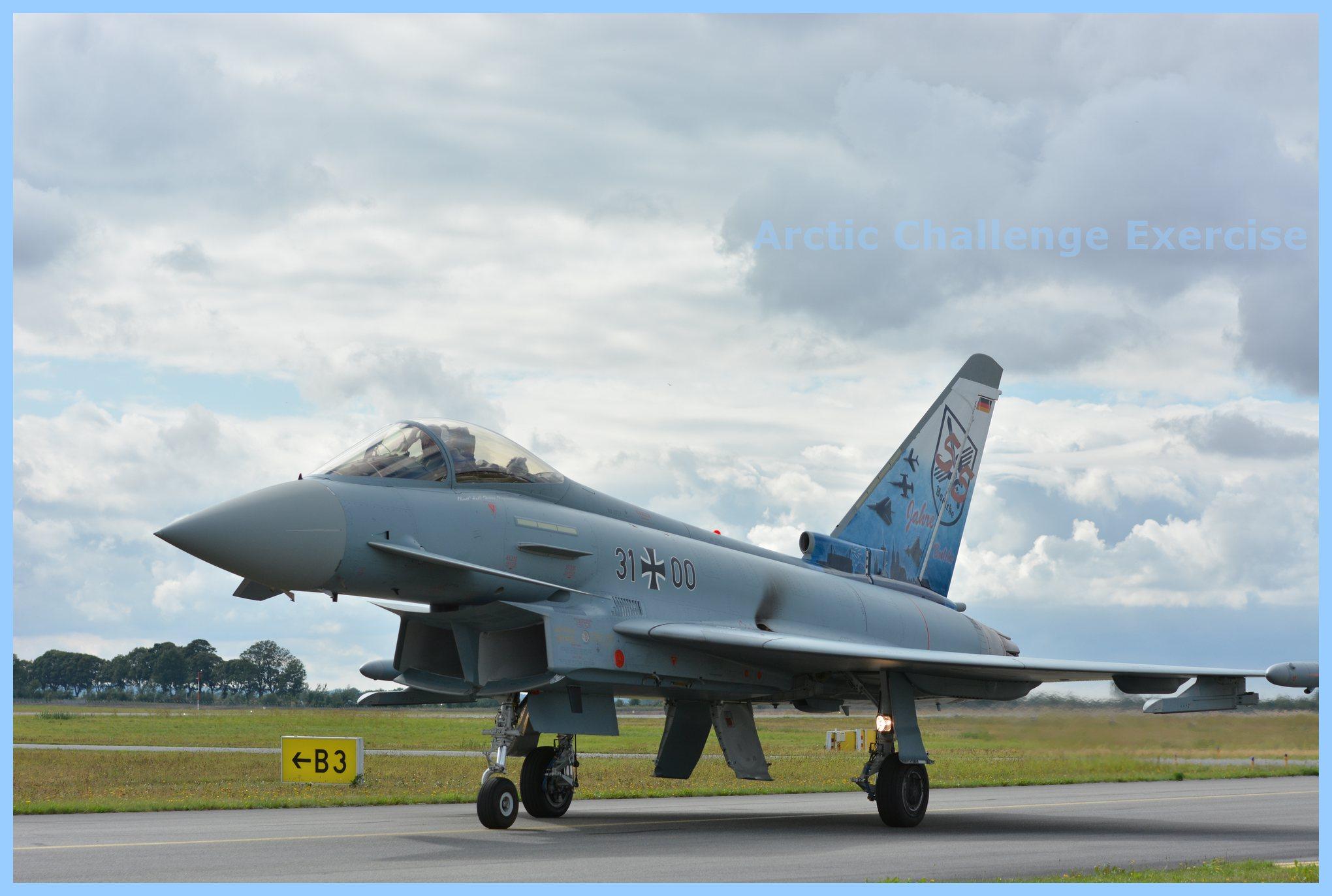 Kontrakt skrivet om eurofighter